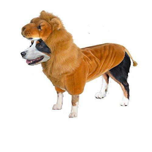 Doggy Wannabe Comfy Creature Coats Kostüm Löwe Medium ()