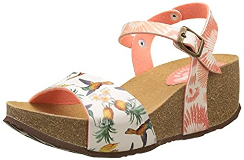 Chaussures Desigual - Desigual Bio7 Colibri Tropical, Sandales Bout Ouvert