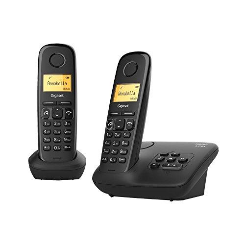 Gigaset A270A Duo Festnetz-Telefon schnurlos Anrufbeantworter DECT