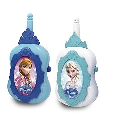 Disney Frozen 16644FR - Set de 2 walkie talkies (IMC Toys 16644) - Walkie Talkie, Muñecas y Accesorios A Partir de 4 años por Frozen
