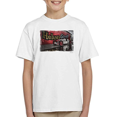 Martyn Goddard Official Photography - HCS Special Distressed Edge Indy Racer Kid's T-Shirt