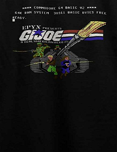 G I Joe T-Shirt Schwarz