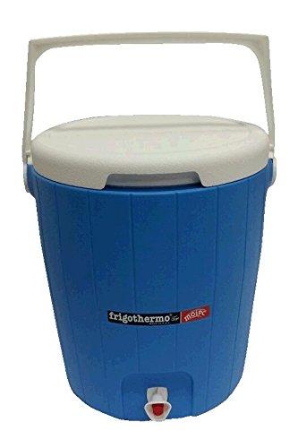 frigothermo Kühlboxen Kühlbox mit Zapfhahn mit Tragegriff in Verschiedenen Varianten (18 Liter - Rund)