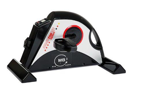 ergometer senioren Christopeit Heimtrainer Mini Bike MB 3, schwarz/silber, 50 x 42 x 31 cm, 1340