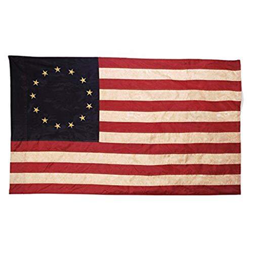 99native 13 Sterne [Amerikanische Sternenbanner] USA-Flagge für Gartendekoration | Amerikanische Flagge US-Flagge, USA 3x5 Fuß Fahne (90x150cm)
