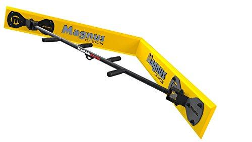 Magnus® Power MP3038 - Barra de dominadas (montaje en esquina de pared) + Soporte para cabestrillo de entrenamiento y para saco de boxeo