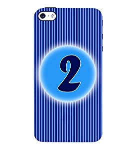 Fuson 3D Printed Numerology Designer back case cover for Apple I Phone 4 / 4s - D4219