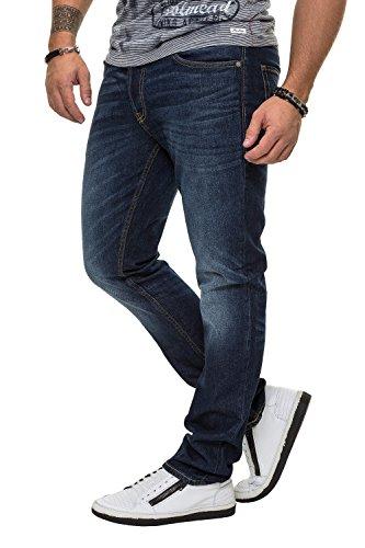 Jack & Jones Herren Tim Original 011 CR Jeans, Blau, 34W x 32L
