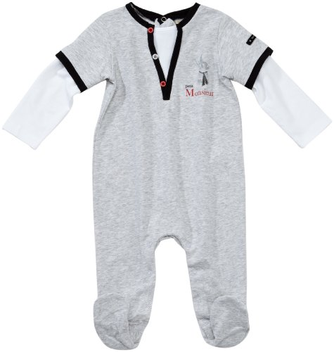 7398fc258e1f7 Berlingot - Pyjama - Bébé Garçon - Gris (1) - FR   3 mois