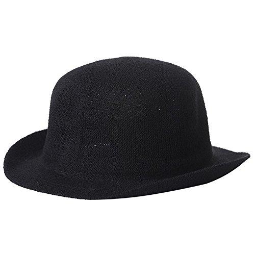 Leisial™ Gorro de Punto Sombrero Caliente Sombrero Femenino de Viaje Invierno Primavera para Mujer Plegable