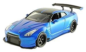 Jada Toys-98271bl-Nissan GT-r35-2012Ben Sopra-Fast and Furious-Escala 1/24-Azul
