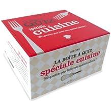 La Boîte à quiz spéciale cuisine
