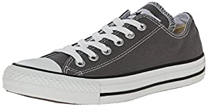 CONVERSE Chuck Taylor All Star Seasonal Ox, Unisex-Erwachsene Sneakers, Grau (Charcoal), 37.5 EU