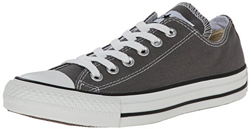 Converse Chuck Tailor All Star Sneakers, Unisex-adulto, Grigio (Anthracite/Charcoal), 38