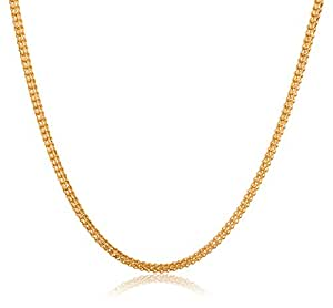 Senco Gold 22k Yellow Gold Chain Necklace