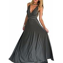 promo code 5c7a7 7dd01 Amazon.it: vestito lungo donna