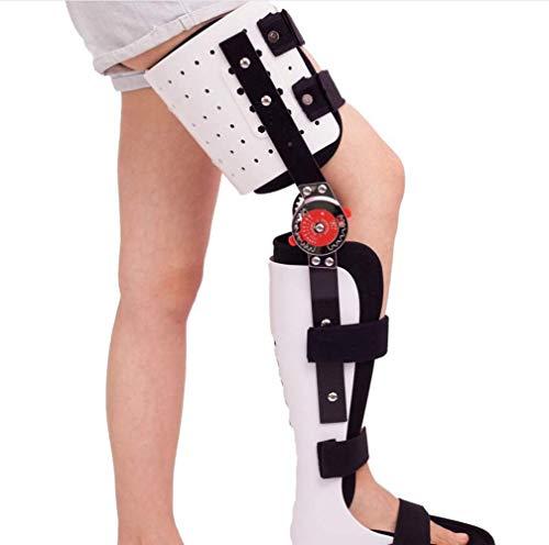 SISHUINIANHUA Knie-Knöchel-Fixierungs-Klammer Verstellbare Beinstütze Kniegelenk-Fixierer mit Airbag -