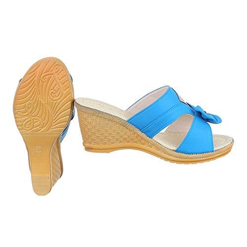 Sandali blu scuro per donna Bockstiegel 1bMe9