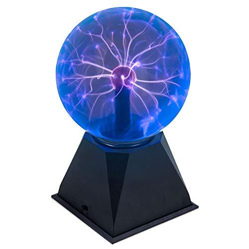 Juguetrónica JUG0358 Blueray Plasmakugel XL - Plasma Ball große blau