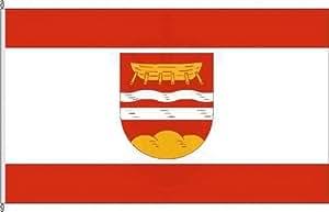 Anwesenheitsbanner Schülp b Rendsburg - 40 x 250cm - Flagge und Banner