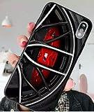 Générique Coque iPhone 7+ Plus et iPhone 8+ Plus Sport Auto M Noir Silicone Souple