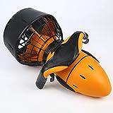 BOBOCHOM Tauchscooter SeaScooter Sea Dog Tauchausrüstung Kind und Erwachsene schwarz-gelb