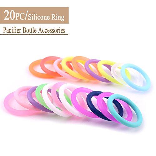Best for baby Accessoires de dentition d'allaitement Bague en Silicone Sans BPA DIY Naturel Accessoires de Bijoux