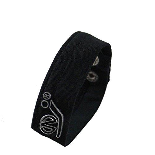Internet Männer Male Underwear Thong C-Armband Erwähnung Ring Armband (Schwarz) - Spitze Männliche Thong