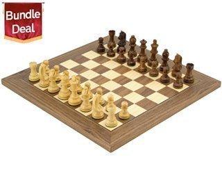 Den Kopf Nach Unten Klassisch Sheesham Luxus Schachspiel