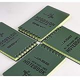 YKDY IT Taccuino Impermeabile della Carta da Lettere di Protezione degli Occhi di Verde del Libro di Bobina di apprendimento delle Lingue straniere