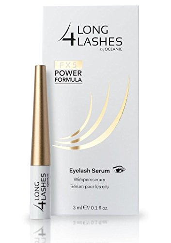 Long4Lashes FX5 Power Formula Wimpernserum by Oceanic, 3 ml (Schöne Wimpern)
