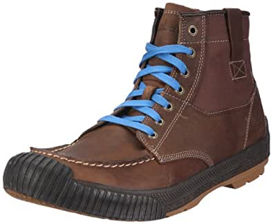 Timberland HOOKSET LTHR MTC BROWN 63554, Scarpe basse uomo, Marrone (Braun/Medium Brown Tumbled Oiled FG), 50