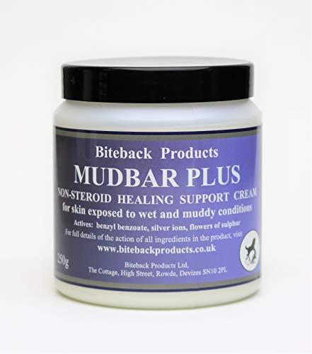 Biteback Products 'Mudbar Plus' Hautschutzcreme für Pferdemasse/Regen Hautzustände 250g