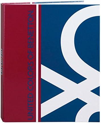 Benetton Safta 511706657 Classeur Classeur Classeur folio 4 anneaux à couverture large B01N14BQHF | D'avoir à La Fois La Qualité De Ténacité Et De Dureté  3383d0