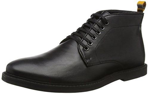 Frank WrightCorby - Stivaletti uomo, colore nero (black leather), taglia 42 (8 UK)