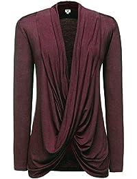 khujo Damen Sweatshirt KAIA mauve Pullover Jumper Sweater Longsleeve Tubekragen