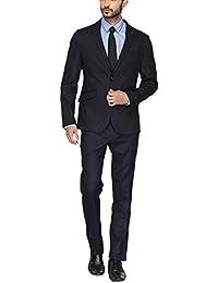V Dot Men's Slim Fit Suit