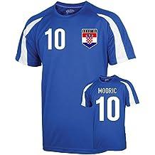 UKSoccershop Croatia Sports Training Jersey (Modric 10) - Kids