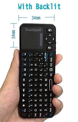 Mini tastiera palmare [layout italiano non garantito] With Backlit