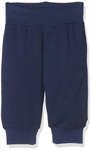 Schnizler Kinder Pump-Hose aus 100% Baumwolle, komfortable und hochwertige Baby-Hose mit elastischem Bauchumschlag, Blau (Marine 11), 80