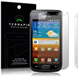 SAMSUNG GALAXY W I8150 SCREEN PROTECTOR / GUARD / FILM / COVER 2-IN-1 PACK BY TERRAPIN