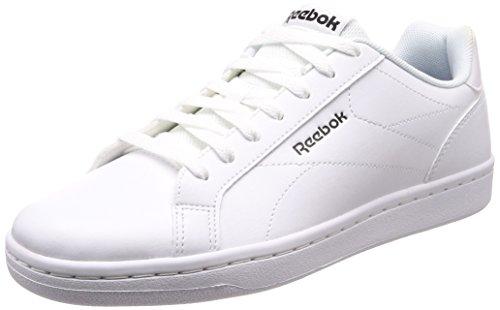 791ca7c5ebfcf Reebok Royal Complete CLN, Zapatillas de Gimnasia para Hombre, Blanco  NM/White/Black/Reflective, 42.5 EU