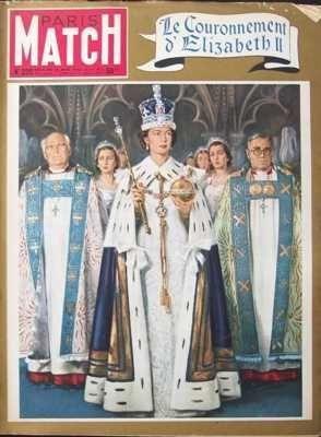 PARIS MATCH [No 220] du 06/06/1953 - ALP...