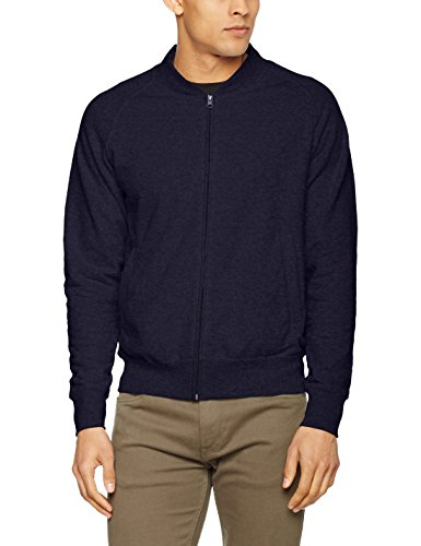 Fruit of the Loom, Giacche Sportive Uomo Blue (Deep Navy)