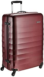 American Tourister Polyester 79 cms Crimson Red Hardsided Suitcase (71W (0) 10 003)