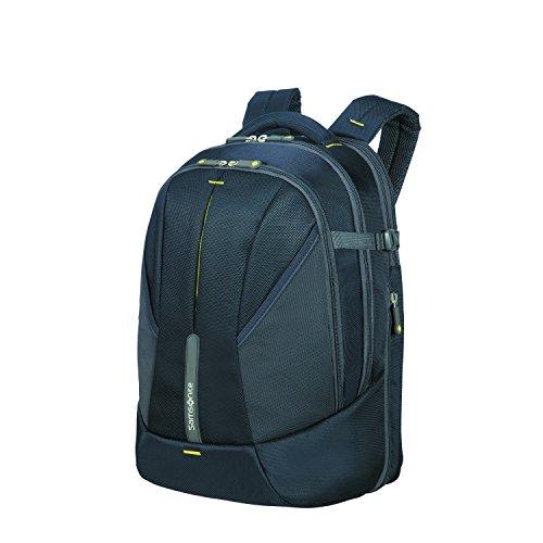 SAMSONITE - 4mation Laptop Rucksack, 46 cm, 34 L, Midnight Blau/Gelb