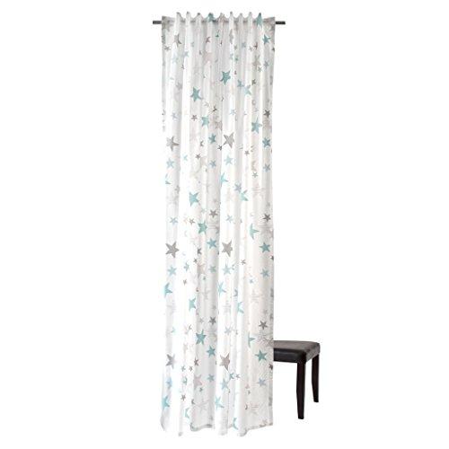 Homing Vorhang mit verdeckten Schlaufen - verschiedene Motive - 5907 bis 5910 (Stars / Sterne)
