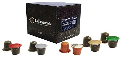 Lacompatibile nespresso ® - 50 capsule compatibili di caffè cofanetto assaggio