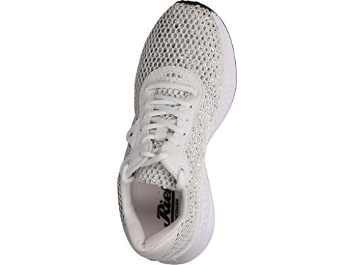 Rieker N5610 80, Scarpe Stringate Donna Bianco Bianco Bianco