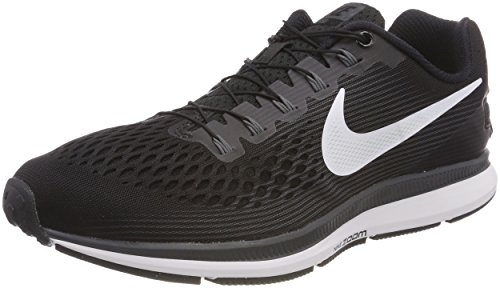 Nike Air Zoom Pegasus 34 FLYEASE, Zapatillas de Trail Running para Hombre, Negro (Black/White/Dark Grey/Anthracite 001), 44.5 EU